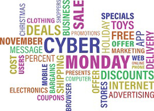 Bulletin board for Cyber Monday